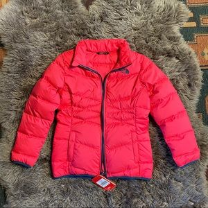 NWT Hot Pink North Face down puffy